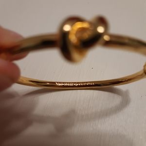 kate spade Jewelry - Kate Spade Sailors Knot Gold Bangle